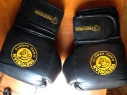 Luva de Boxe Pretorian 18 Usada, mas conservada Para iniciantes