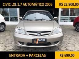 Civic LXL 1.7 Automático 2006 - 2006