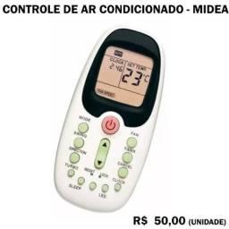 Controle de Ar Condicionado Midea