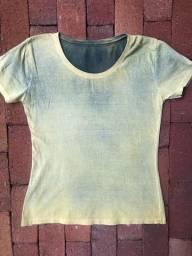 Camisetas femininas lisas