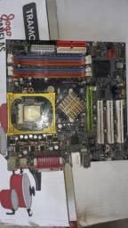 Kit placa mãe GA8IG 1000MK