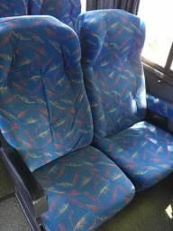 Bancos soft para ônibus (bancada)
