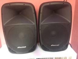 Caixa acústica Oneal Ativa 15 Opb1115 220rms