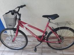 Bicicleta com garupa e beneus novos