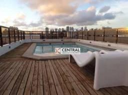Cobertura com 5 dormitórios para alugar, 792 m² por R$ 7.000,00/mês - Rio Vermelho - Salva