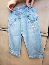 Calça Jeans Lilica Infantil - Tam 3P