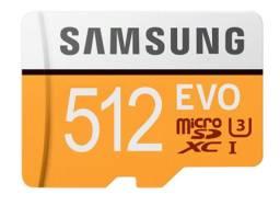 Cartão de memória Samsung EVO SDXC 512GB MICRO SD