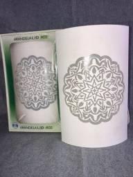 Arandela em Aço Bivolt Indiana Branca 3000k Luz Branca - RGC Tecnologia