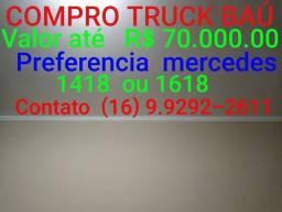 Compro mercedes truck bau 1418 ou 1618