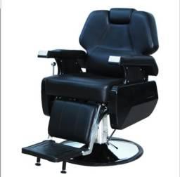 Cadeira de barbeiro reclinavel