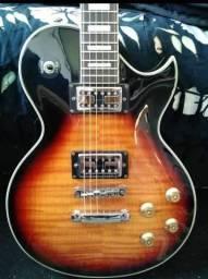 Guitarra LP, Ampli Marshall e Pedaleira ZOOM comprar usado  Alvorada
