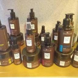 Kit Salvatore: shampoo+ tratamento+ leave in
