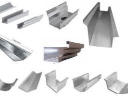 Calhas e Rufos - Compre pelo zap - zinco galvanizada telhas