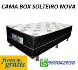 Compre e Receba No Mesmo Dia!!Cama Box Solteiro Nova Com Frete Gratis!!