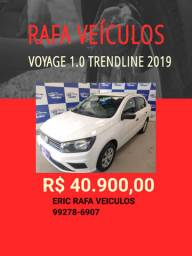 Voyage 1.0 Trendline 2019 R$ 40.900,00 - Rafa Veiculos - Eric amgh