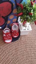 Sandália Baby Vermelha