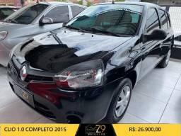 Clio 2015 1.0 Completo / repasse !!!