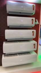 Ar condicionado já instalado