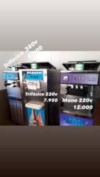 03 Máquinas de Sorvete Expresso/A pronta entrega