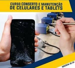 Curso de manutenção em celulares.