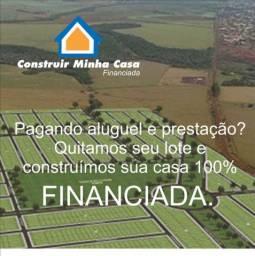 CONSTRUÇÃO DE CASA FINANCIADA PELA CAIXA ECONÔMICA FEDERAL