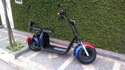 Moto Eletrica Scooter  Bateria De Litio 30A 65km/h Nova!