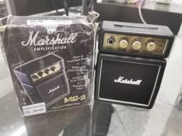 Amplificador Marshall Micro Amp Ms-2 Combo Transistor 1w Pre