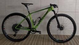 Bicicleta cannondale carbon 5 com upgrades