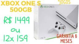 Xbox one s com garantia - duvido cartão