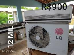 2 Ar Condicionado LG Split 12, 18 MIL BTUS