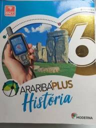 Livro de História AraribáPlus 6 ano BNCC