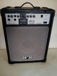 Caixa amplificada WR Áudio RB 460 BT.