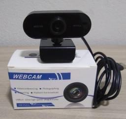 Webcam Full Hd 1080p 360 Graus Com Microfone Usb 2.0