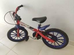 Bicicleta infantil Aro 16 Bandeirante