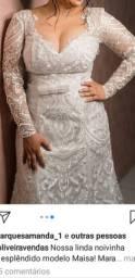 Vestido de noiva tam 44