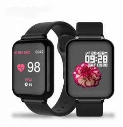 SUPER RELÓGIO SMARTWATCH B57 HERO BAND 3 unissex