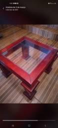 Título do anúncio: Vendo esta mesa de centro valor 250 tratar *