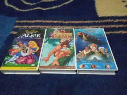 VHS Clássicos Disney