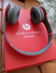 Fone de Ouvido da Beats By Dr. Dre - vermelho