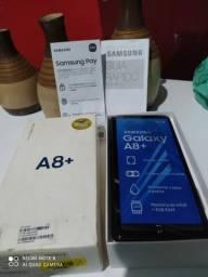 Galaxy A8+ top 64gb 4Ram - camera top(trinco atras)