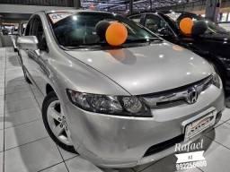 Lindo Civic 2007 LXS 1.8 impecavel! novissimo unico dono