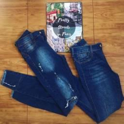 Calça Jeans cintura média