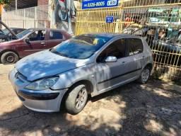 Sucata Peugeot 307 Passion - 2002 - Para retirada de peças