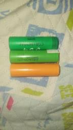 Baterias 18650 para lanternas taticas