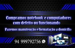 Computadores e notebooks