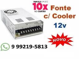 Fonte Chaveada 50 Amperes 12volts Nova Entregamos em Toda Campo Grande