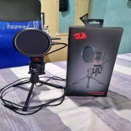 Microfone Streamer Gamer Redragon GM100, P2 - GM100