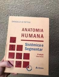Livro Anatomia Humana Sistêmica e segmentar