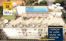 38/54m² | 200m do mar | 1/2 Quartos | Porto de Galinhas