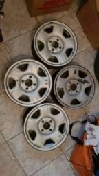 Rodas de ferro Ecosport aro 15